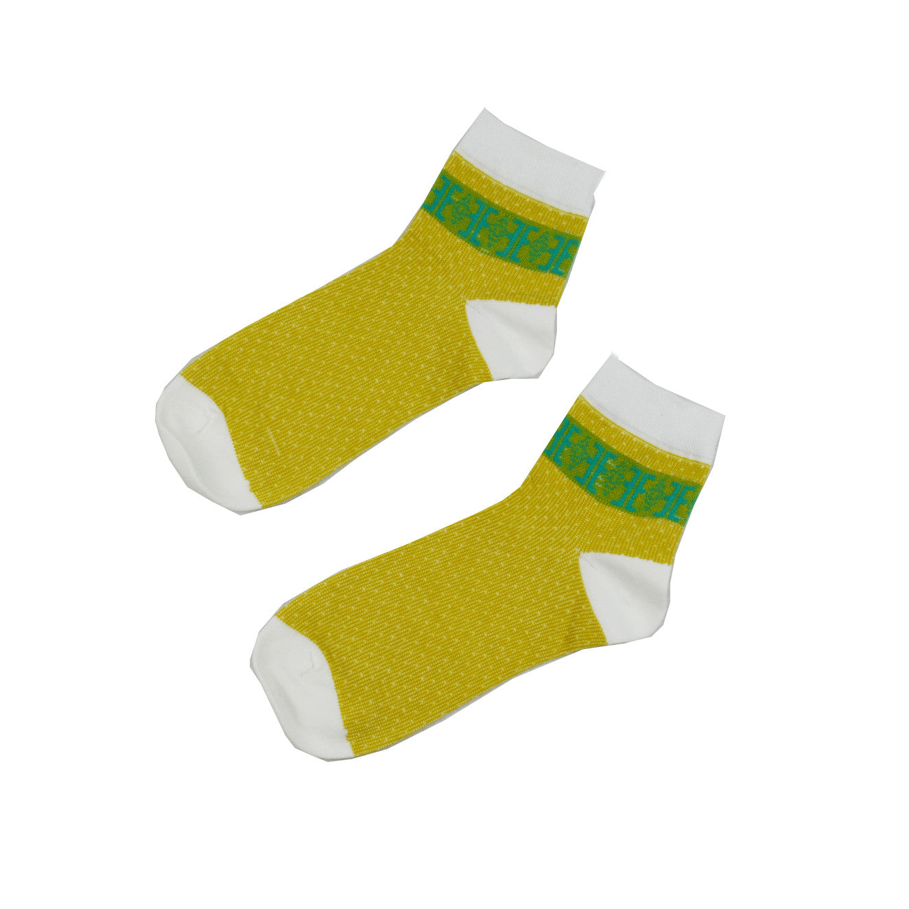 Yellow Classic - Aussie Happy Socks - Happy Pants