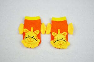 Giraffe - Aussie Happy Socks - Baby Socks - Happy Pants - 1