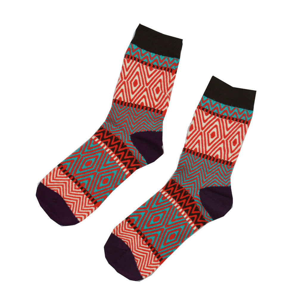 Black and Red zebra - Aussie Happy Socks - Happy Pants