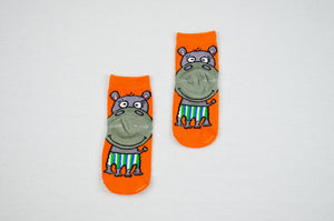 Hippo - Aussie Happy Socks - Kids - Happy Pants - 1
