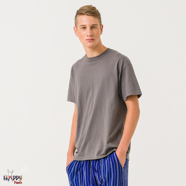 Charcoal Grey T-Shirt - Happy Pants - 2