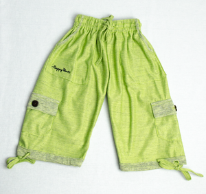 Green Apple Happy Kids Boardshorts 3/4 Shorts