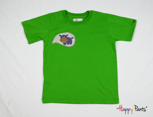 Green Happy Kids Tees - Happy Pants