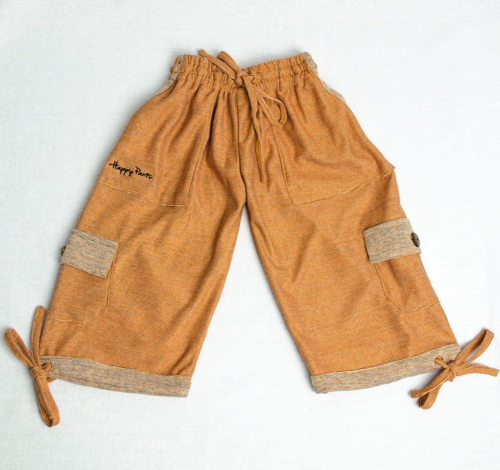 Uluru Orange Happy Kids Boardshorts 3/4 Shorts
