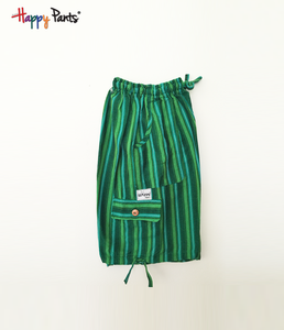 Lush Meadow Green Cotton Bottoms - Happy Pants