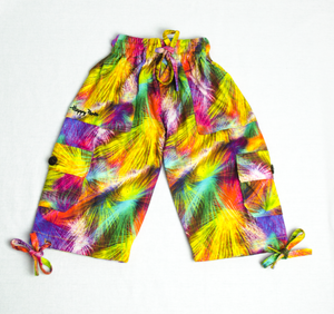 Multicolour Happy Kids Boardshorts 3/4 Shorts