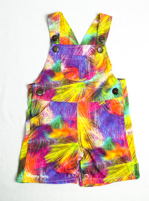 Multicolour Short Overall