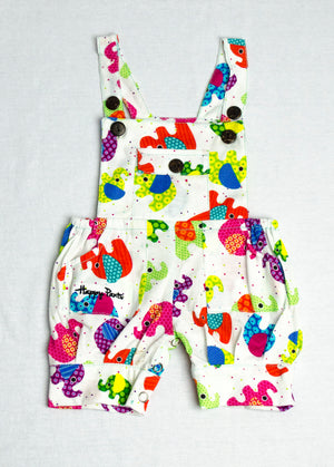 Multicolour elephant Jumpsuit
