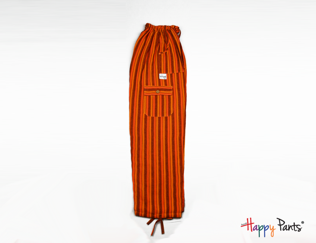 Orange Happy Pants - Happy Pants