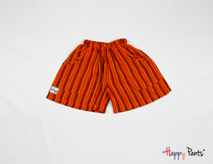 Orange Happy Shorts - Happy Pants