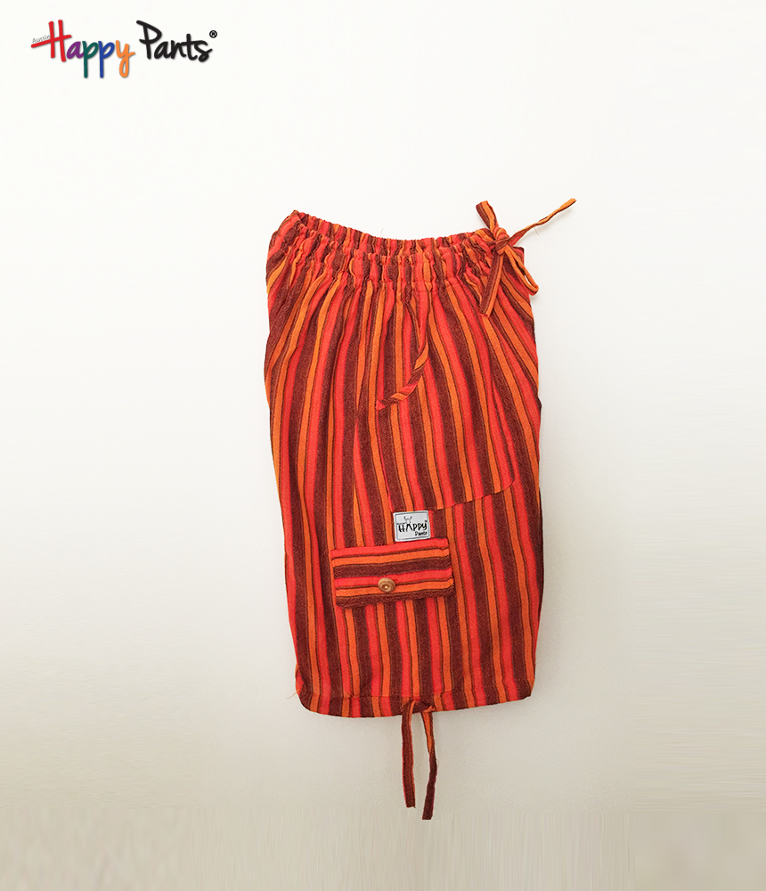 Persimmon Orange Cotton Bottoms - Happy Pants