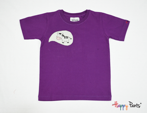 Purple Happy Kids Tees - Happy Pants