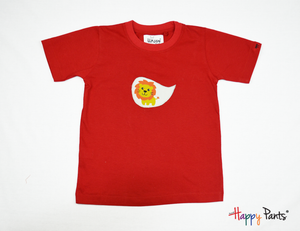 Red Happy Kids Tee - Happy Pants