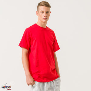 Lava Red T-Shirt - Happy Pants