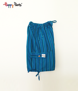 Snorkel Blue Cotton Bottoms - Happy Pants