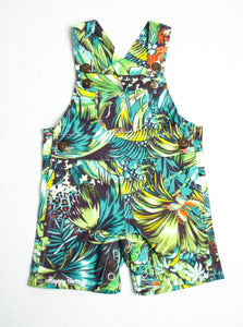 Tropical Short Overall