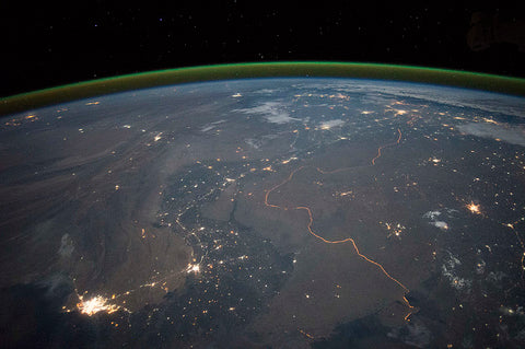 India's Boarders a view from space