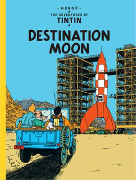 TinTin destination the moon