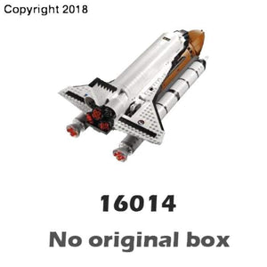 1230pcs Creator New Shuttle Expedition Adventure 16014 Model Building Blocks Assemble Bricks Children Toys Compatible With Lego - future-rockets