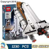 Model Paper Rockets|  New Shuttle Expedition Adventure 16014 Model Building Blocks Assemble Bricks Children Toys Compatible With Lego - future-rockets