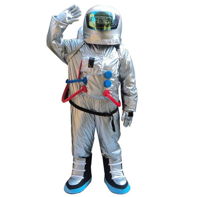 Hot Space Suit Mascot Costume