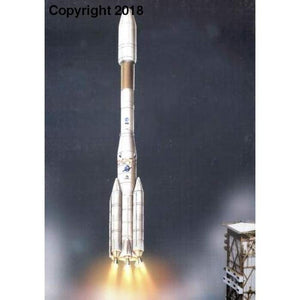 3D Paper Model Ariane 4 Puzzle Student Manual DIY Origami Class Aerospace Science and Technology Toy - future-rockets