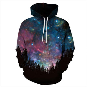 Space Clothes | Galaxy 3d Sweatshirts Men Women Hoodies - future-rockets
