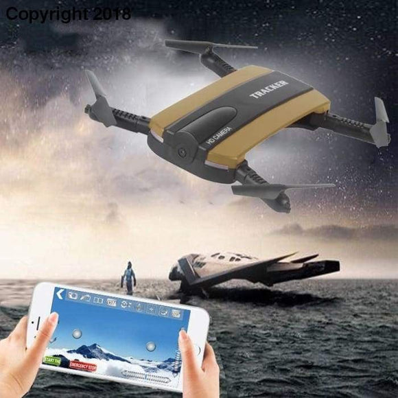 Altitude Hold HD Camera WIFI FPV RC Quadcopter Selfie Foldable Drone - future-rockets