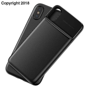 Baseus Wireless Charger Power Bank Case For iPhone X Wireless Charging Battery Charger Case For iPhone X + Phone Case - future-rockets