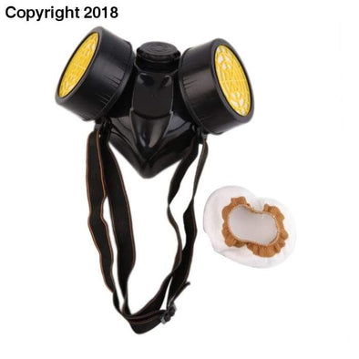 Emergency Survival Safety Respiratory Gas Mask With 2 Dual Protection Filter Drop Shipping - future-rockets