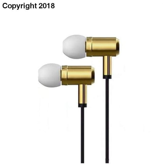 Headphones with Microphone Ref. 101370 Gold - future-rockets