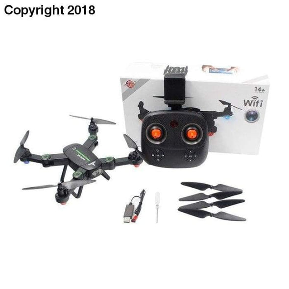 High photography unmanned aerial vehicle F16W Altitude Hold HD Camera 2.0MP WIFI FPV RC Quadcopter Drone Selfie Foldable ot6 p30 - future-rockets
