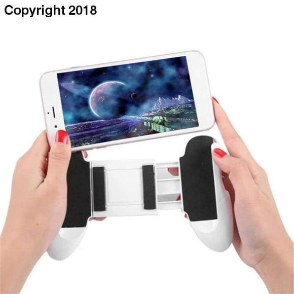 Hot Sale Telescopic Gamepad Phone Holder Stand Universal Gaming Joystick Extended Handle Game Pad for 4.5-6.5 inch Phones - future-rockets