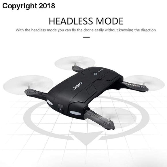 JJRC H37 Altitude Hold w/ HD Camera WIFI FPV RC Quadcopter Drone Selfie Foldable - future-rockets
