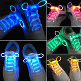 LED Sport Shoe Laces Flash Light Glow Stick Strap Shoelaces Disco Party Club 4 Colors 2018 Hot Selling - future-rockets
