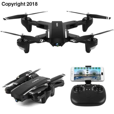 Mini Q39W Foldable With Wifi FPV HD Camera 2.4G 6-Axis RC Quadcopter Drone Toys - future-rockets