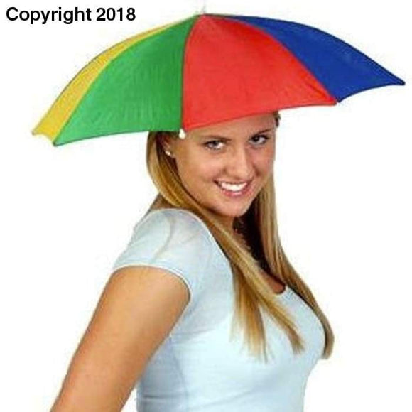 Buy Outdoor Portable Umbrellas - Hat Cap Fishing Camping Beach Fashion