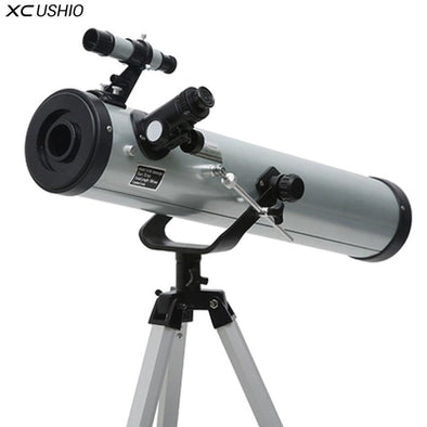 XC Large Aperture HD Astronomical Telescope with Portable Tripod Outdoor Zooming Monocular Telescope Space Observation 350 Times