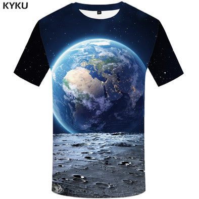 Earth Printed T-shirt for Men