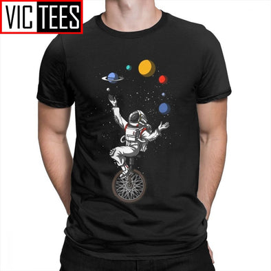 Space Astronaut Men T-Shirts