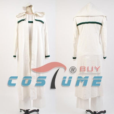 Star Trek: Deep Space Nine Ezri Dax White Long Robe Cloak Costume - future-rockets