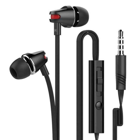 For iPhone 3.5mm Piston In-Ear Stereo Earbuds Earphone Headset Headphon - future-rockets