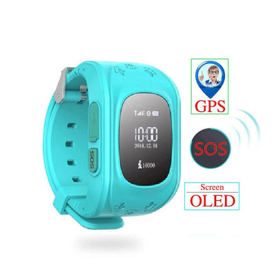 GPS Tracker Smart Watch for Kids