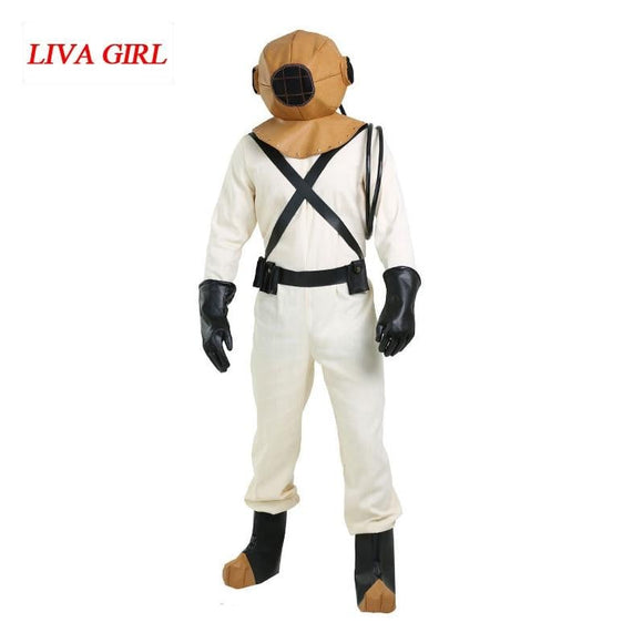 Aquanaut astronaut cosplay costume men astronaut suit spaceman costumes halloween cosplay space astronaut clothing -Space toys, Space art, levitating lamps ,Space inspired tech products, smart electronics
