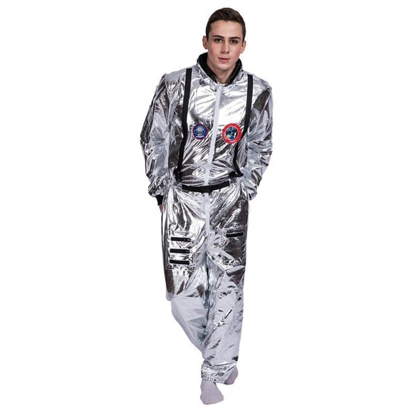 Astronaut Space Suit Costume Astronaut Spacesuit Stage Performance Cosplay Costume Halloween Carnival Party For Adult Children -Space toys, Space art, levitating lamps ,Space inspired tech products, smart electronics