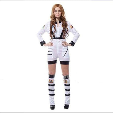 Hot Sale Performance Promotion Female Space Clothing Uniform Cosplay Costumes - future-rockets