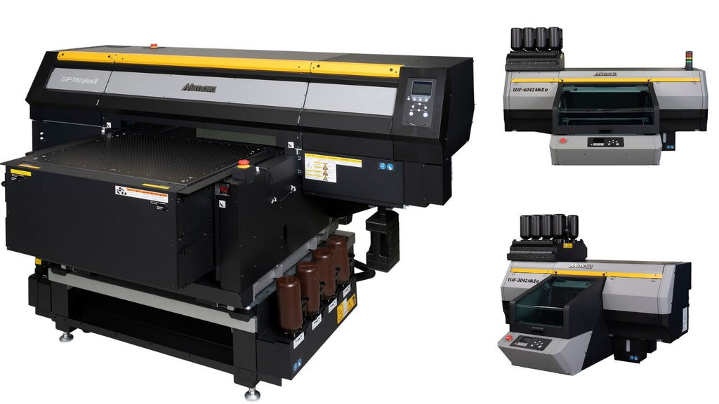 Mimaki leads the way in Industrial Printing with New Direct-to-Object Inkjet Printers