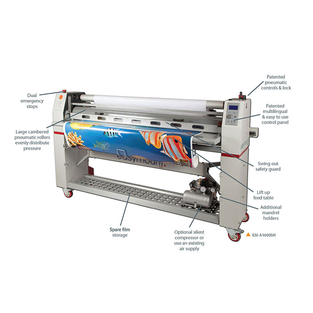 Easymount Air Single Hot Laminator