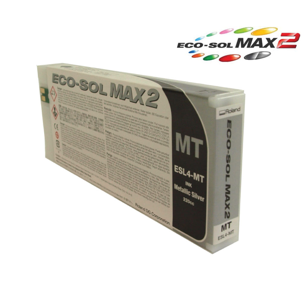 Roland Eco-Sol MAX 2 ESL4 Metallic Ink (220ml cartridge)