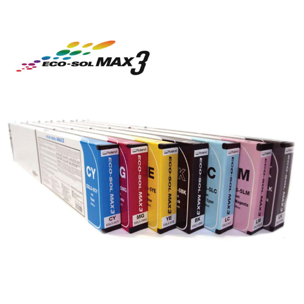 Roland Eco-Sol Max 3 (500ml Cartridges)